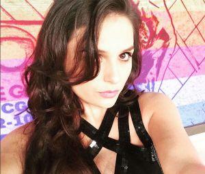 """No """"Vídeo Show"""", Monica Iozzi mostra ansiedade para receber Cauã Reymond"""