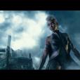 """De """"X-Men: Apocalipse"""": quem também apareceu no trailer exibido durante o Super Bowl foi a personagem Tempestade (Alexandra Shipp)"""