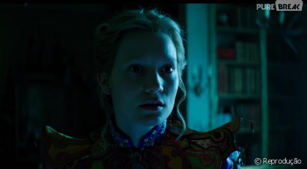 """""""Alice Através do Espelho"""" ganhou um novo trailer"""