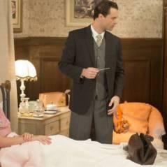 """Novela """"Êta Mundo Bom!"""": Gerusa (Giovanna Grigio) desmaia e deixa Osório (Arthur Aguiar) preocupado!"""