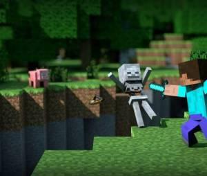"""De """"Minecraft"""": agora é possível segurar espadas, escudos e tudo mais apenas com uma mão!"""