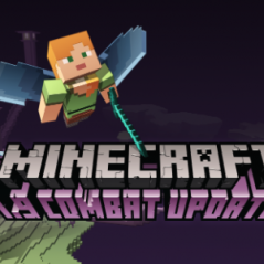 """Game """"Minecraft"""" é reformulado pela Microsoft e ganha combates mais dinâmicos em nova atualização!"""