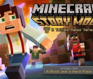 """Episódio 4 de """"Minecraft: Story Mode"""" está disponível desde dezembro de 2015!"""