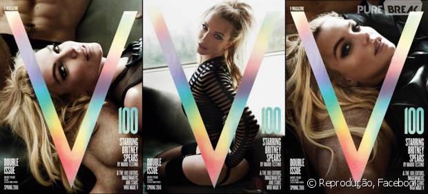 Britney Spears surge sexy na capa da V Magazine