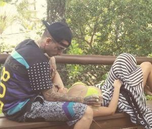 Lexa e MC Guime curtiram uns dias de férias juntos em Ilhabela, em São Paulo