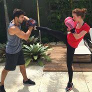 """Marina Ruy Barbosa, de """"Totalmente Demais"""", mostra treino de muay thai e recebe elogios!"""