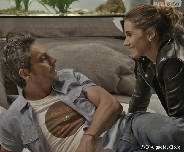 """Em """"A Regra do Jogo"""": Atena (Giovanna Antonelli) e Romero (Alexandre Nero) ficam ricos após morte de Gibson (José de Abreu)!"""