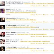 No Twitter, fãs de Luan Santana se mobilizam para que Globo exiba show do cantor