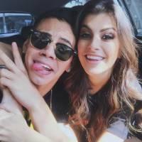 """Biel e Nah Cardoso, do clipe do hit """"Química"""", dão beijo técnico no canal da youtuber!"""