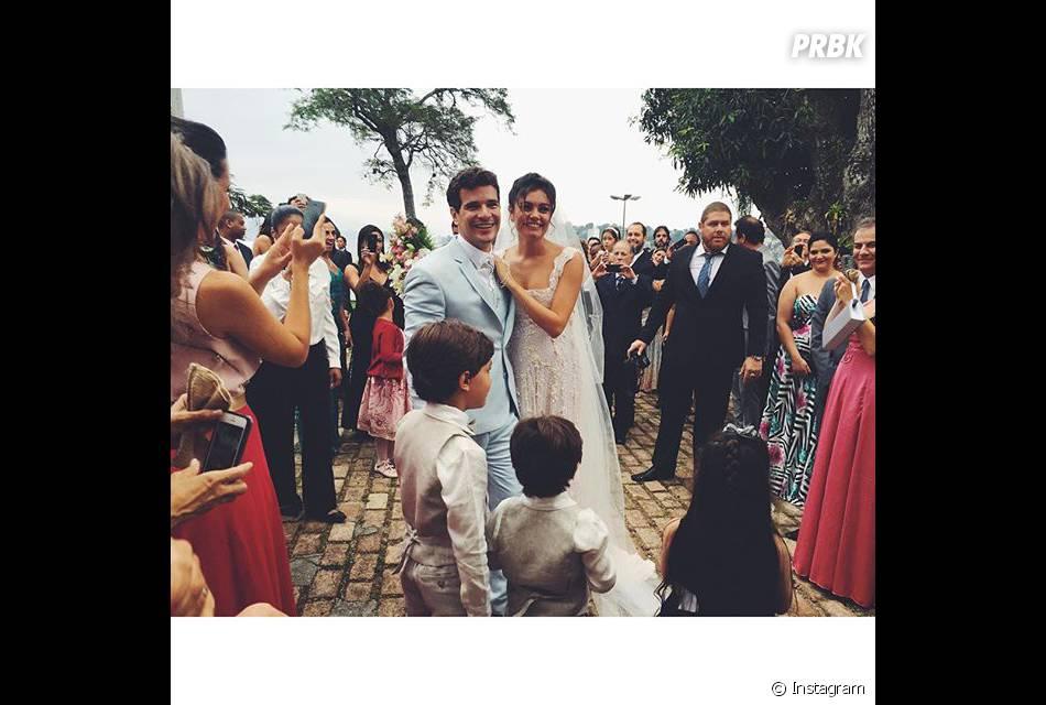 Sophie Charlotte e Daniel de Oliveira se casaram no início de dezembro e estão muito ansiosos pelo bebê!