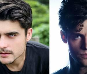 """O Guilherme Leicam já é super parecido com o Alec (Matthew Daddario) de """"Shadowhunters"""", além de ser mega talentoso!"""