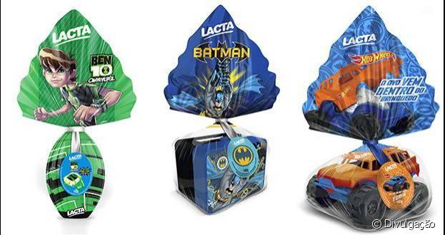 Será que o Batman vai conseguir derrotar o Superman na venda de ovos de Páscoa?