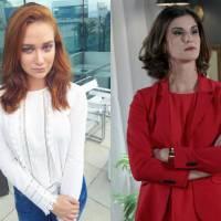"""Novela """"Cúmplices de Um Resgate"""": Regina (Maria Pinna) ou Safira (Dani Moreno), quem é a pior vilã?"""