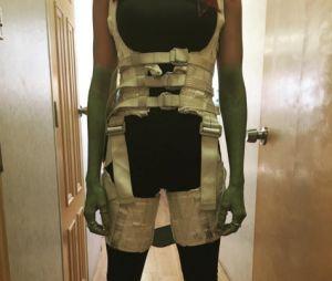 """Zoe Saldana interpreta a Gamora em """"Guardiões da Galáxia Vol. 2"""""""