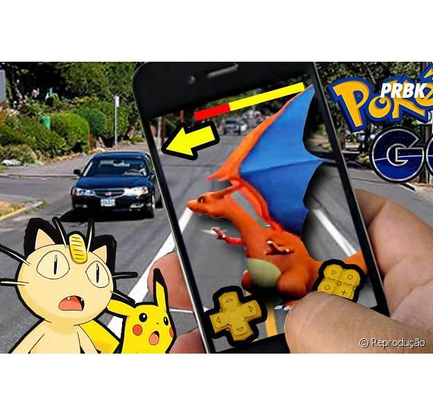 """Em """"Pokémon GO!"""", montrinhos podem atacar de acordo com barra de stamina!"""