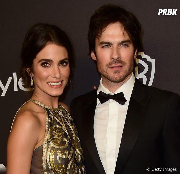 """Ian Somerhalder, de """"The Vampire Diaries"""", e Nikki Reed pensam em ser pais"""