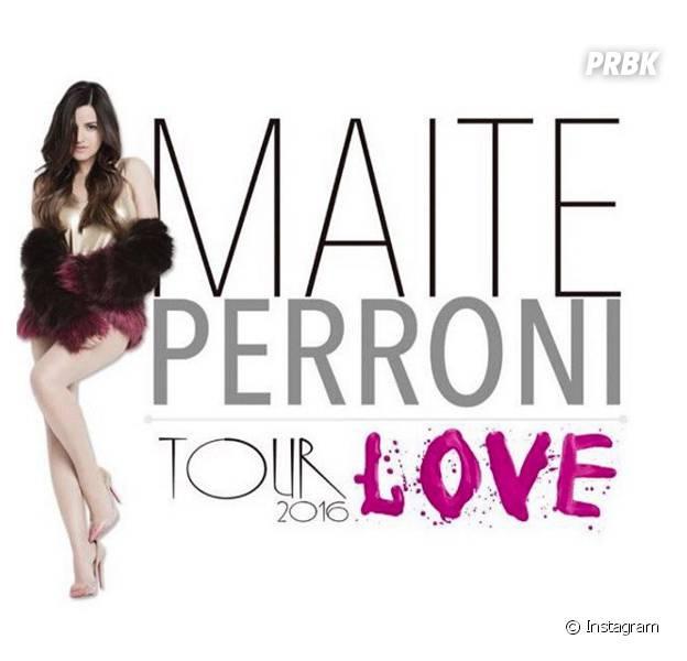 Maite Perroni, ex-RBD, vem para o Brasil em julho de 2016