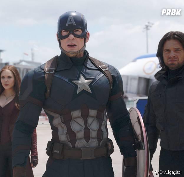 """Capitão América 3: Guerra Civil"" narra a briga entre Steve Rogers e Tony Stark"