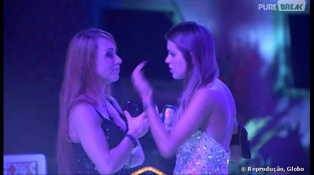 """Angela ficou ofendida por ter sido chamada de Letícia por Aline """"BBB14"""""""