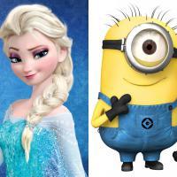 """Duelo Oscar 2014: """"Frozen"""" ou """"Meu Malvado Favorito 2"""" para """"Melhor Animação""""?"""