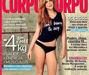 """Marina Ruy Barbosa, estrela de """"Totalmente Demais"""", está na capa da nova edição darevista Corpo a Corpo"""