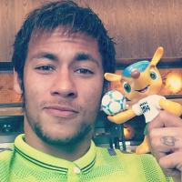 Neymar posta foto e pede proteção antes de jogo da Seleção Brasileira