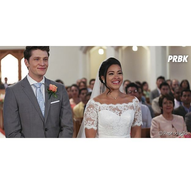 """Em """"Jane the Virgin"""", Jane e Michael se casam e protagonista escuta declaração de Rafael!"""