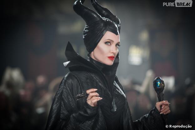"""Angelina Jolie explica que seus filhos tiveram medo ao saber que ela faria """"Malévola"""""""