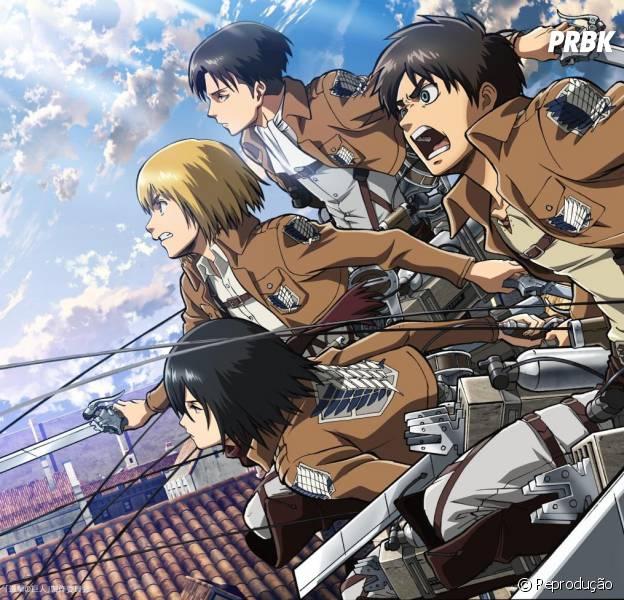 """De acordo com site, segunda temporada do anime """"Attack on Titan"""" estreia apenas em 2017"""