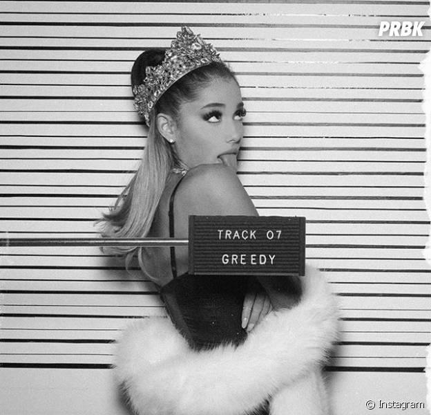"Ariana Grande libera ""Greedy"", música de seu novo álbum ""Dangerous Woman"""