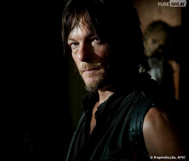 "Daryl Dixon, interpretado pelo ator Norman Reedus, na série ""The Walking Dead"""
