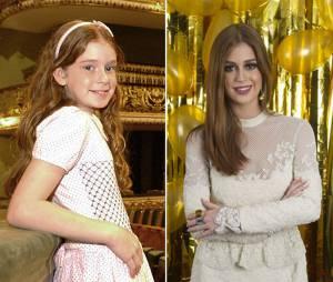 Marina Ruy Barbosa começou cedo na Globo