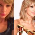 Taylor Swift sem maquiagem é um evento que não acontece muitas vezes