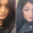 Fotos de Kylie Jenner sem maquiagem são raras
