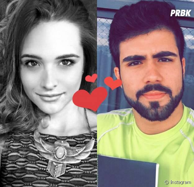 """Juliana Paiva, de """"Totalmente Demais"""", e Juliano Laham são flagrados trocando carinhos em clima de romance!"""