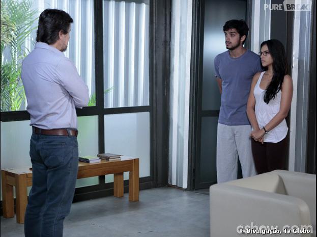 """Em """"Além do Horizonte"""", Marlon (Rodrigo Simas) será colocado na máquina da felicidade por LC (Antônio Calloni)!"""