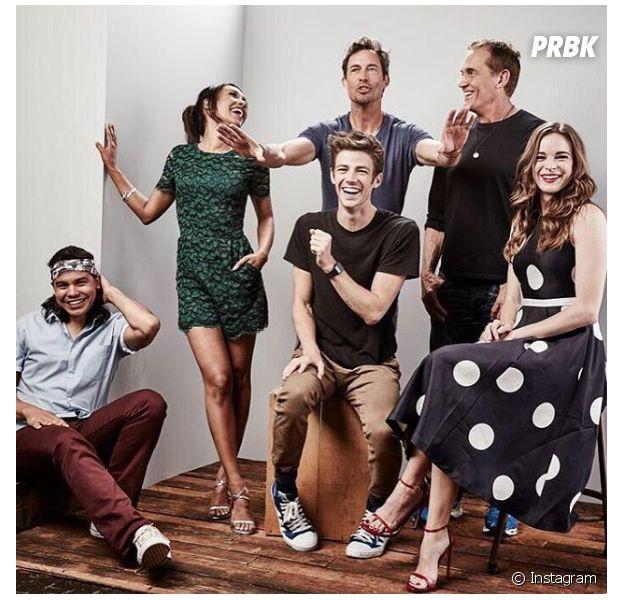 "Será que o elenco de ""The Flash"" erra bastante?"