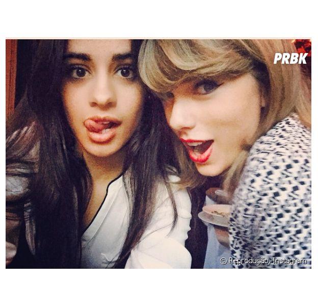Como Taylor Swift e Camila Cabello, do Fifth Harmony, veja famosos que são amigos e você nem lembrava!