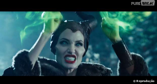 """Confira o novo trailer do filme """"Malévola"""", com Angelina Jolie"""