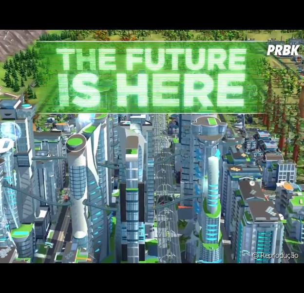 """Game """"SimCity Buildit"""" é atualizado com nova expansão do futuro! Confira!"""