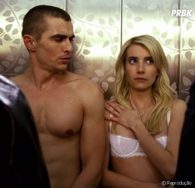 """Emma Roberts e Dave Franco estrelam o suspense """"Nerve"""". Assista ao novo trailer!"""