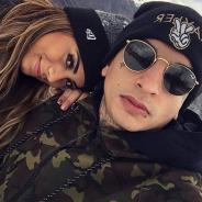 """MC Guime comemora noivado com a cantora Lexa no """"Encontro com Fátima Bernardes"""": """"Muito feliz"""""""