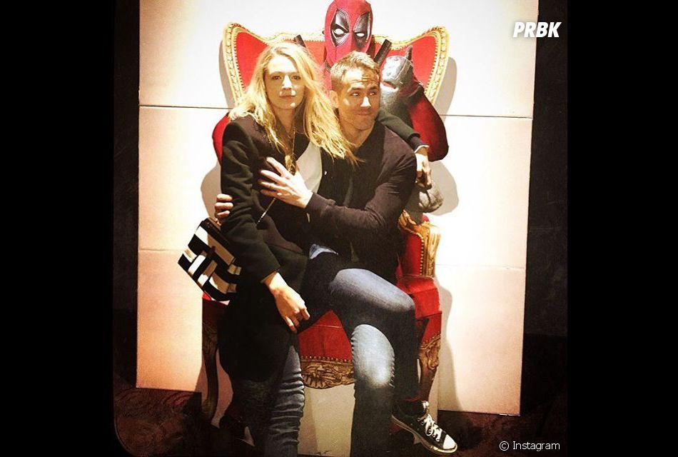 """Blake Lively afirmou que as cenas do Ryan Reynolds em """"Deadpool"""" estão por todos os lados"""