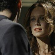 """Novela """"Haja Coração"""": Tancinha (Mariana Ximenes) e Beto se beijam após novo encontro!"""