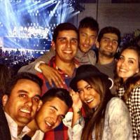 Neymar leva a irmã e amigos para o show de Beyoncé em Barcelona