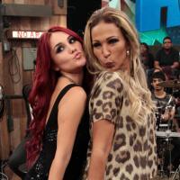 """Dulce Maria e Valesca Popozuda vão gravar """"Beijinho no Ombro"""" em espanhol"""