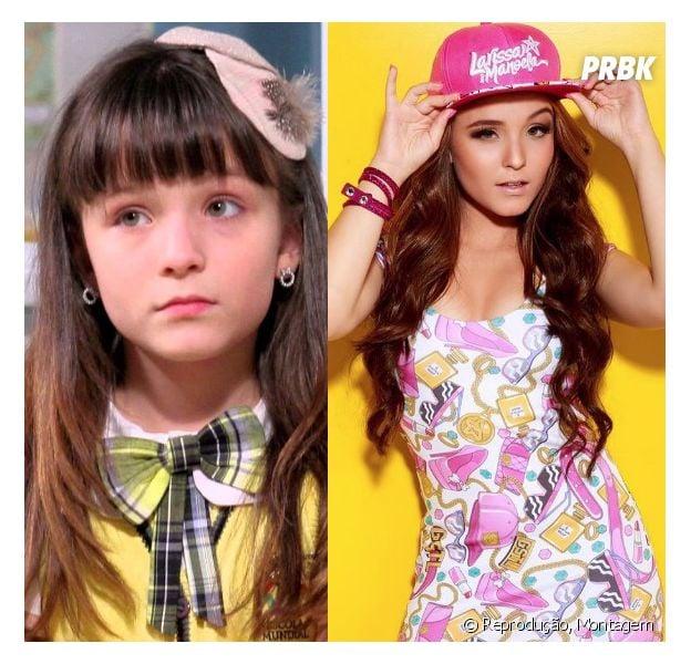 """Larissa Manoela mudou muito desde a sua personagem em """"Carrossel""""?"""
