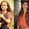 Mel Maia começou bem pequena e ainda é bastante novinha. Mas ela cresceu bastante, né?