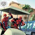 Eles não perdem a piada! Deadpool e Homem-Aranha fazem piadas e dão o que falar na web!