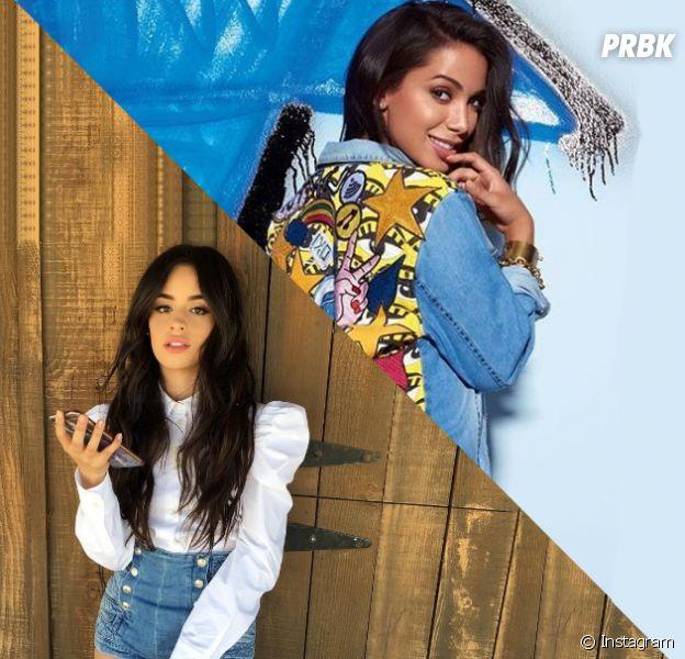 No Twitter, Anitta e Camila Cabello, do Fifth Harmony, trocam mensagens e levam fãs à loucura
